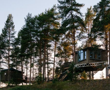 Sleep Here: Granö Beckasin, Swedish Lapland