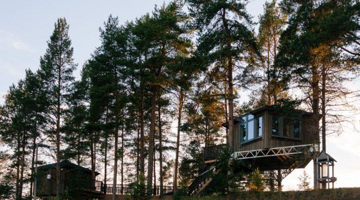 Sleep Here: Granö Beckasin, Swedish Lapland