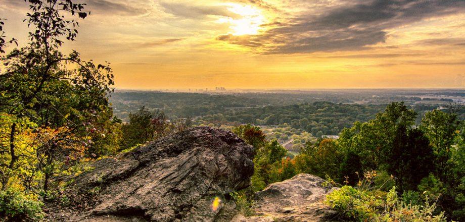 Biking and hiking in Birmingham, Alabama.