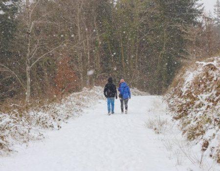 Ireland in winter, hiking in Ireland in winter